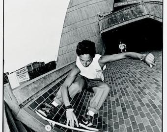 Tommy Guerrero Skating China Banks Photo 18 x 24 Inch  - 80s Skate Photo
