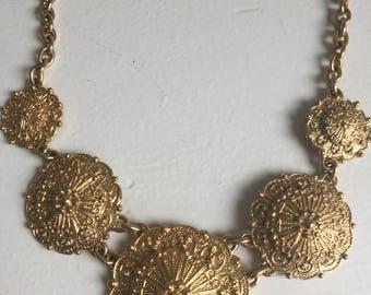 Vintage couture Gontie Paris necklace