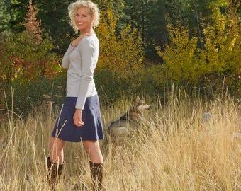 Hemp 3/4 Bliss Skirt