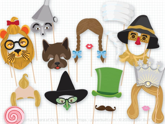 Wizard Of Oz Party Photo Booth Props Wonderful Wizard Of Oz