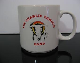 Rare! The Charlie Daniels Band Coffee Mug