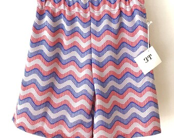 Vintage Polyester Retro Shorts 3T *SALE**