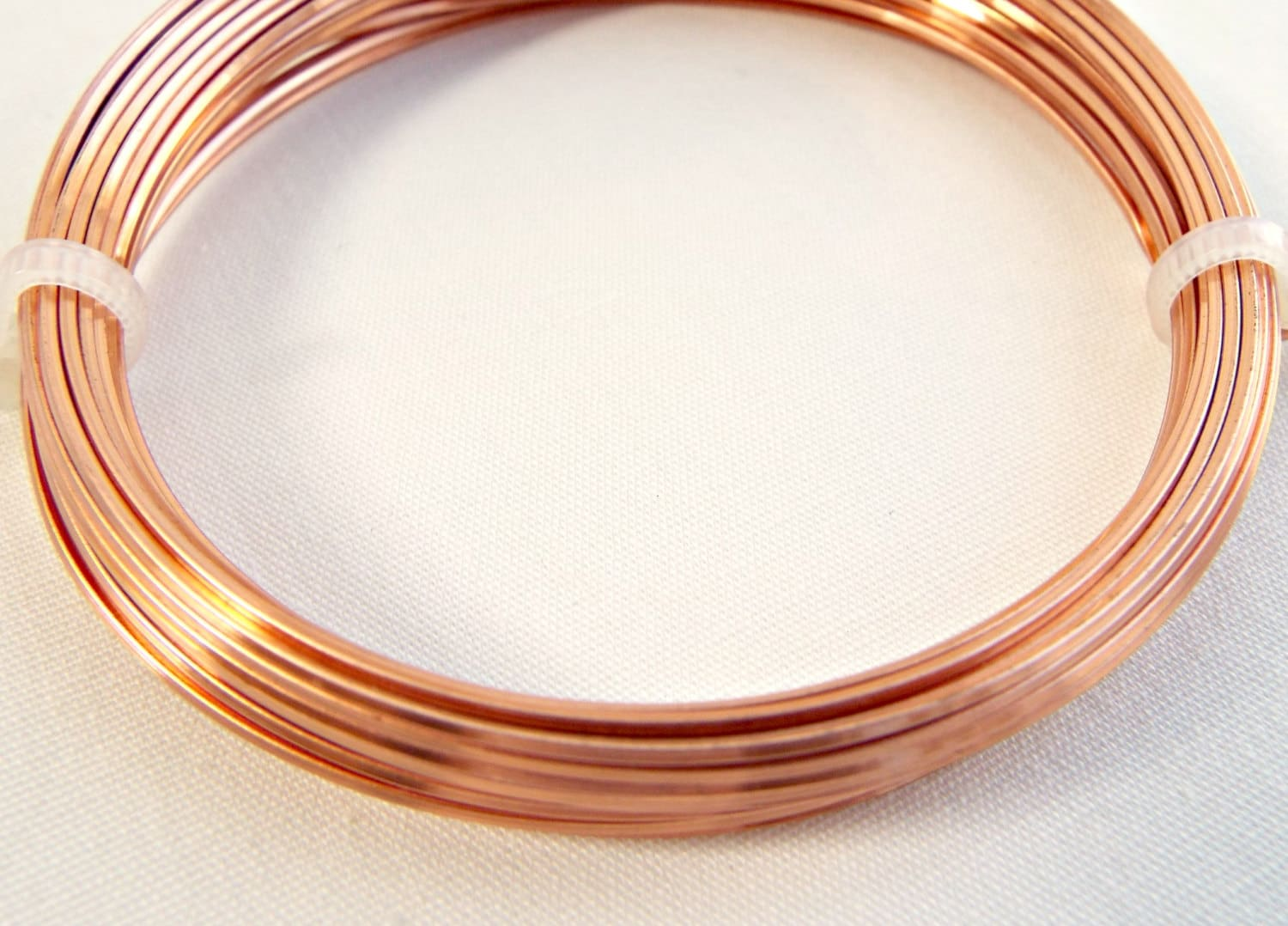 Square Wire Copper Jewelry Wire 20 Gauge Wire 6 Metres