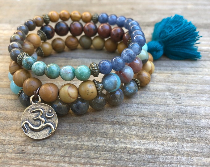 DIVINITY Bracelet Set with tassel charm