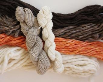Weavers pack 8.4 ounces (239 grams) 100% natural yarn, SHINE...