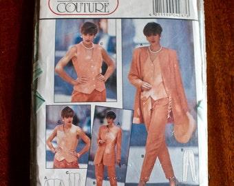 Vintage 1990s Burda pattern 4287 Sizes 10,12,14,16,18,20