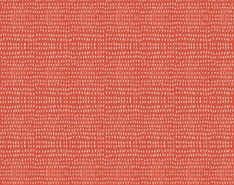 Seeds in Coral  - MERMAID DAYS - by Cori Dantini for Blend Fabrics - By the Yard