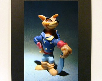 """Framed Tale Spin Toy Photograph 5x7"""" Don Karnage"""