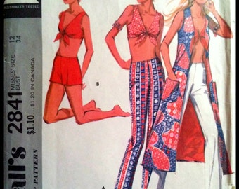 McCall's 2841  Misses' Coordinated Separates  Size 12