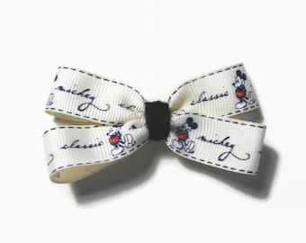 Classic Mickey Hair Bow