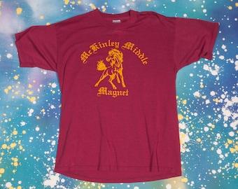 MCKINLEY Middle MAGNET T-Shirt Men's Size L