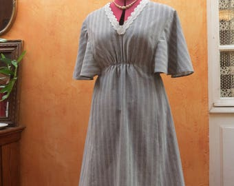 Vintage of seventies dress cut