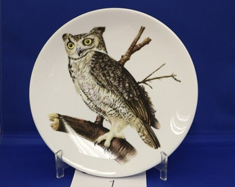 8 inch Owl plates