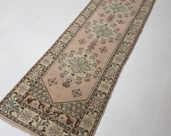 Hallway Runner Runner Rug Turkish Runner Oushak Runner Vintage Runner Kitchen Runner Rug Runner Oushak Rug Runner Turkish Rug Runners