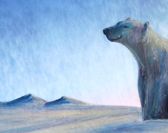 Dawn Bear Holiday Card