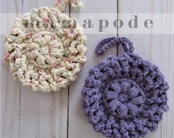 CROCHET PATTERN Pampering Cotton Loofah