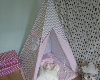 Teepee, Wigwam, Kids Teepee, Playhouse, Kids teepee tent, Tipi Tent, Hand Made, Made to Order