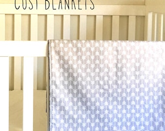 Cosy Blanket // Baby Blanket // Swaddle // Tummy Time Mat // Flannelette // Pram Blanket // Nursery Throw
