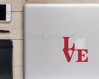 Laptop Decal - LOVE Laptop Sticker - LOVE decal - Sticker - LSLD-A0005TF