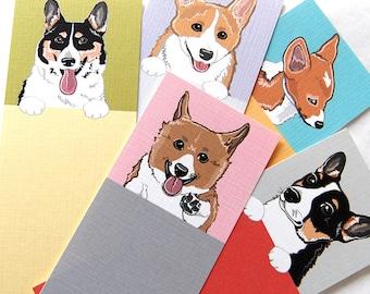 Corgi Bookmarks - Eco-friendly Set of 5