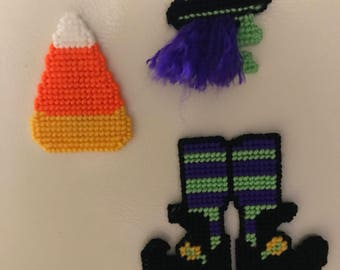Witchy Halloween Magnets Candy Corn Magnet Halloween Decoration Party Favors