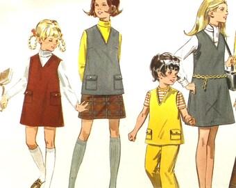 UNCUT V Neck Top, Dress, Skirt and Pants Size 10 Butterick 5380