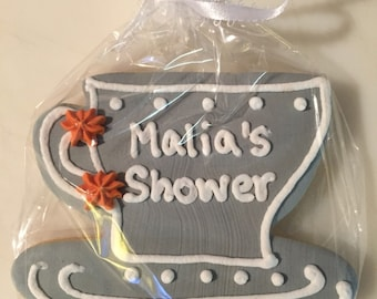Teacup Cookie Favors- Beautiful Favors