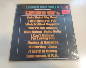 Lawrence Welk - Favorites From The Golden 60's Sealed Original Press Ranwood R 8068 Record 1970 Old Store Stock Almost 50 Years Old!!!!!