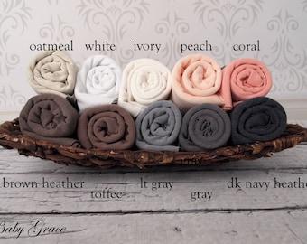 Newborn Wrap, Stretch Knit Wrap, Newborn Photo Prop, Stretch Wrap, Photography Prop, Baby Wrap, Newborn Swaddle, Sweater Knit Fabric