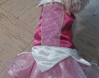 Sleeping Beauty Pet Dog Cat Costume