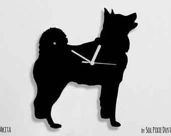 Akita Dog - Wall Clock