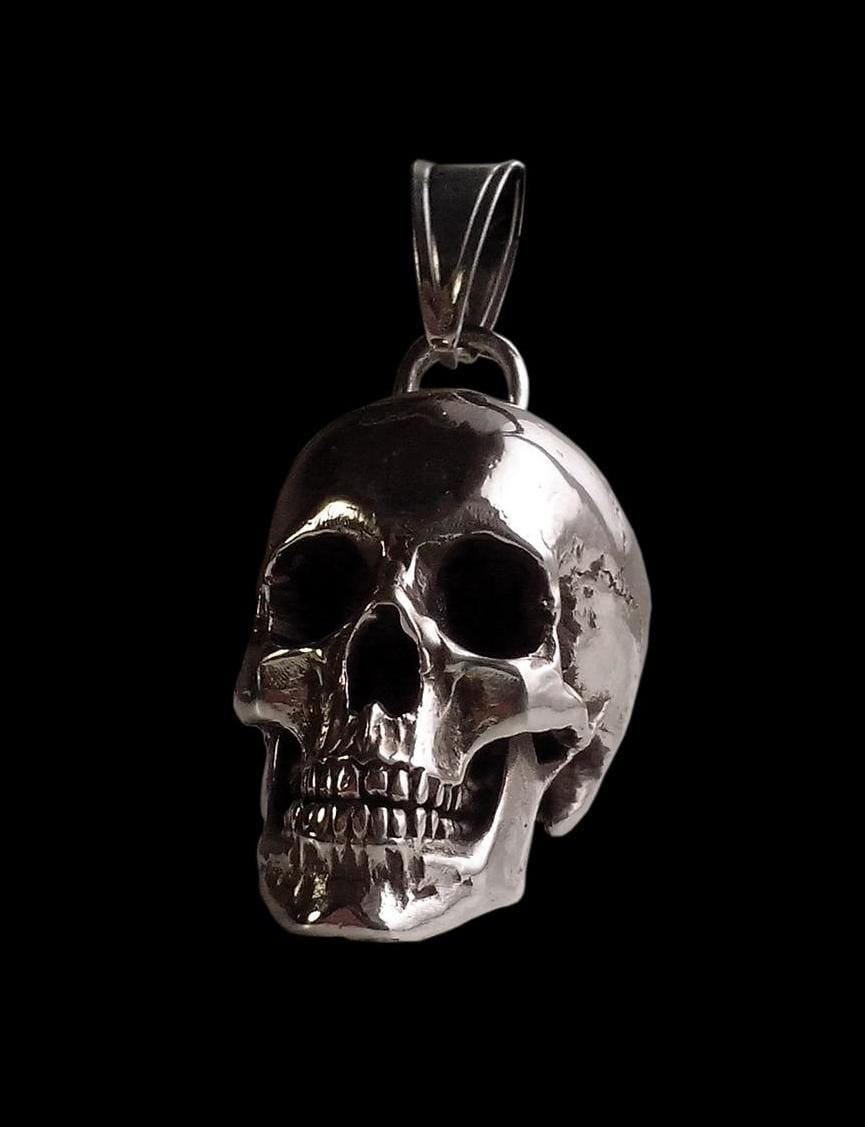 pendants alloy men products king hamlet for cord pendant baby small leather mens on skull