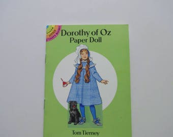 Vintage Dorothy of Oz Paper-doll Book Tom Tierney 1992