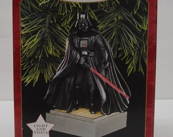 1997 Darth Vader Collectible Hallmark Keepsake Ornament STAR WARS  - New in Box