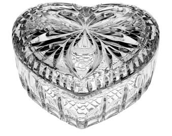 Bohemia Czech crystal jewelry box