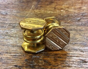 Vintage 1920s Correct Links Button Cuff Links