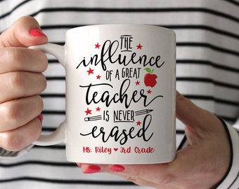 Teacher Gifts Teacher Appreciation Gift Custom Gifts for Teachers Teacher Mug Personalized Gifts for Teacher Gifts Coffee Mug Cute Fun
