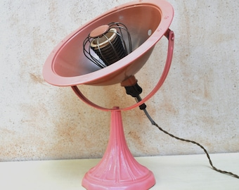 Vintage French Calor Heater Pink Decor