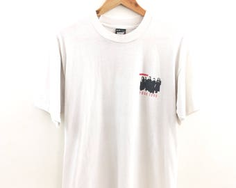 Vintage Hiroshima 1990 Tour Band T-shirt