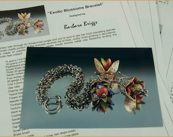 "Tutorial for The ""Exotic Blossoms"" Bracelet"
