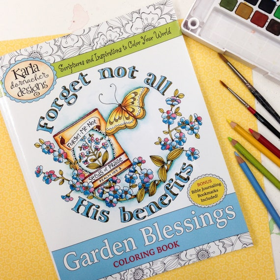 INSTANT DOWNLOAD Garden Blessings Adult And Childrens