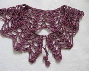 Croched collar Peter Pan collar lace collar handmade