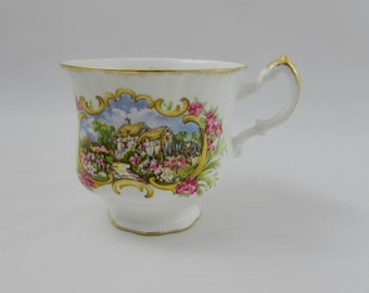 Paragon Orphan Tea Cup, Chippendale F, Replacement Tea Cup, Teacup ONLY, No Saucer