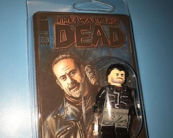 The Walking Dead NEGAN & Lucille Custom TV AMC Minifigure