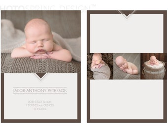 Baby Announcement Template