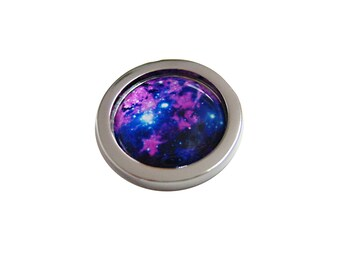 Bright Nebula Cloud Pendant Magnet