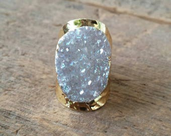 Luxe Druzy Ring