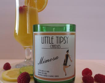 Little Tipsy Candles Mimosa