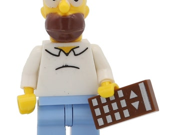 Homer Simpson Custom LEGO