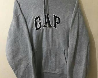 Sale Vintage Gap hoodies, Big Embroidery Logo spell out, Size XLarge.
